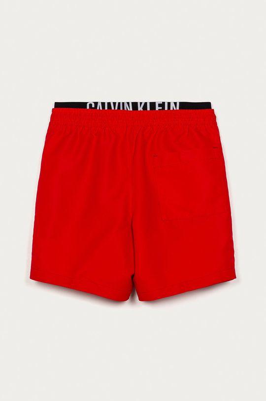 Calvin Klein - Pantaloni scurti copii 128-176 cm rosu