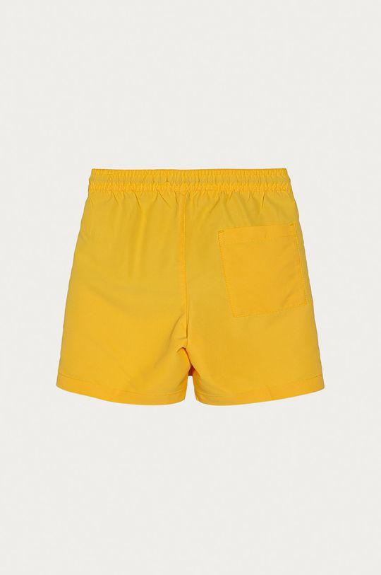 Calvin Klein - Detské krátke nohavice 128-176 cm horčicová