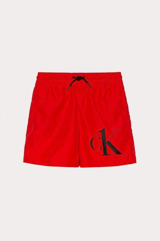 červená Calvin Klein - Dětské plavkové šortky 128-176 cm Chlapecký