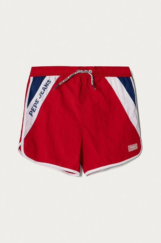 czerwony Pepe Jeans - Szorty kąpielowe dziecięce Tomeu 128-180 cm Chłopięcy