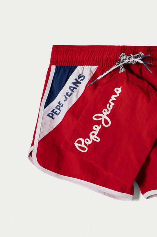 Pepe Jeans - Szorty kąpielowe dziecięce Tomeu 128-180 cm Materiał 1: 100 % Poliamid, Materiał 2: 100 % Poliester, Podszewka 1: 100 % Poliester, Podszewka 2: 12 % Elastan, 88 % Poliamid