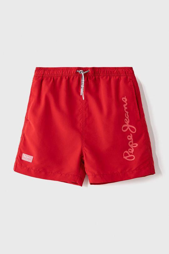 czerwony Pepe Jeans - Szorty kąpielowe dziecięce Guido II 128-180 cm Chłopięcy
