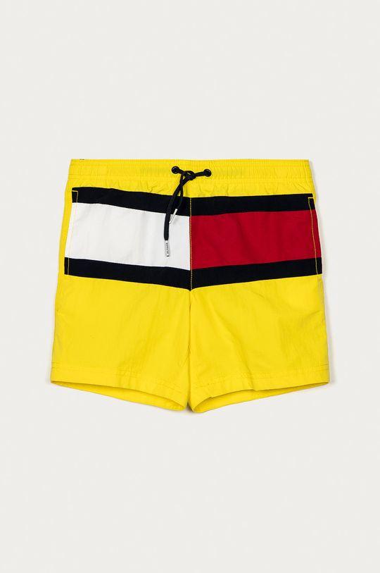 žlutá Tommy Hilfiger - Dětské plavkové šortky 128-164 cm Chlapecký