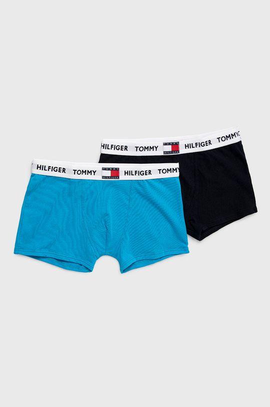 morská modrá Tommy Hilfiger - Detské boxerky Chlapčenský