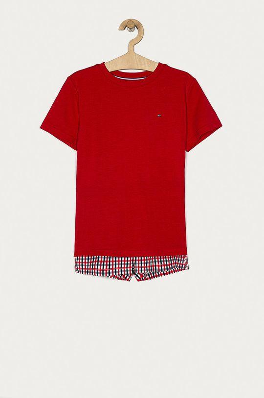 červená Tommy Hilfiger - Dětské pyžamo 128-164 cm Chlapecký