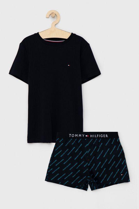 námořnická modř Tommy Hilfiger - Dětské pyžamo 128-164 cm Chlapecký