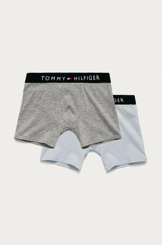 šedá Tommy Hilfiger - Dětské boxerky (2-pack) Chlapecký