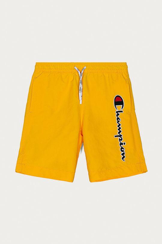 žlutá Champion - Dětské plavkové šortky 102-179 cm Chlapecký