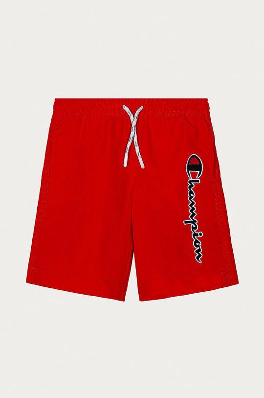 czerwony Champion - Szorty kąpielowe dziecięce 102-179 cm Chłopięcy