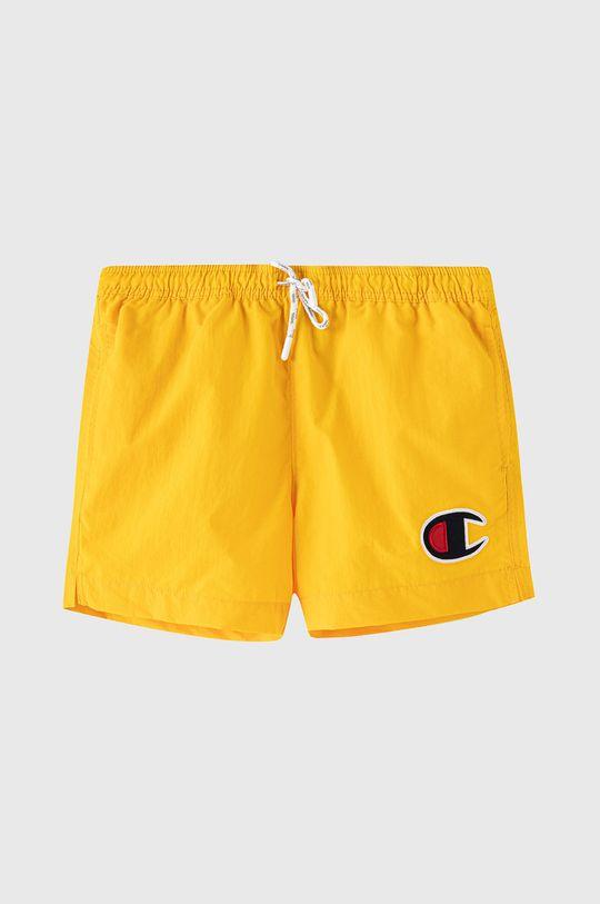 žltá Champion - Detské plavkové šortky 102-179 cm Chlapčenský