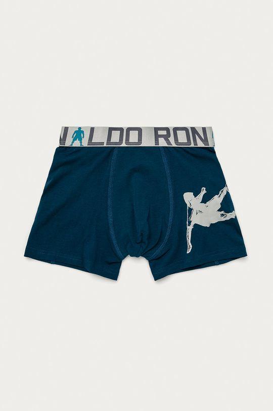 CR7 Cristiano Ronaldo - Dětské boxerky (2-pack)  95% Bavlna, 5% Elastan