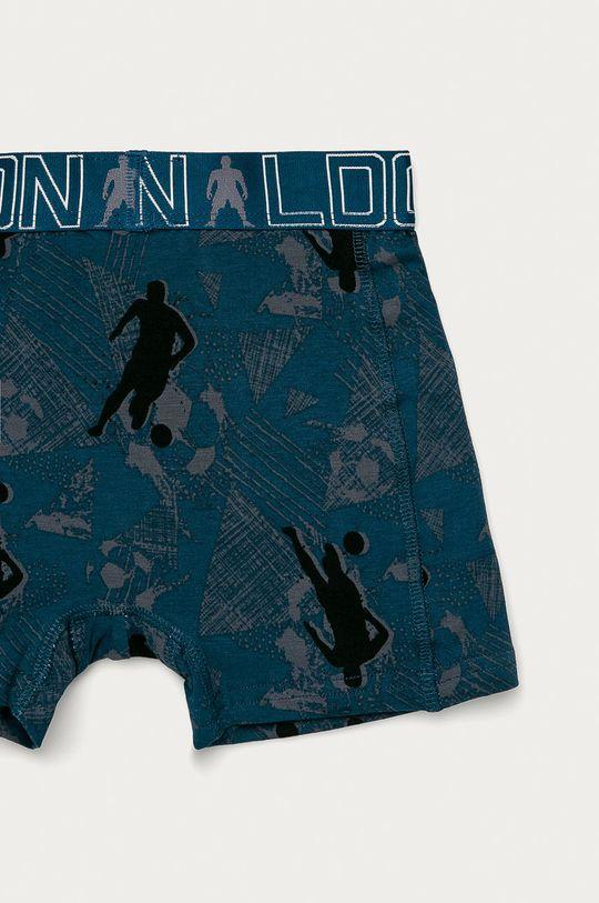 vícebarevná CR7 Cristiano Ronaldo - Dětské boxerky (2-pack)