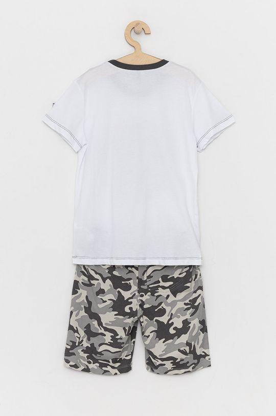 United Colors of Benetton - Dětské pyžamo X Smiley bílá