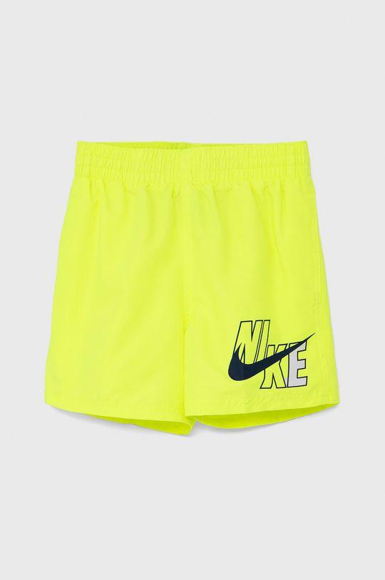 żółty Nike Kids - Szorty kąpielowe dziecięce Chłopięcy