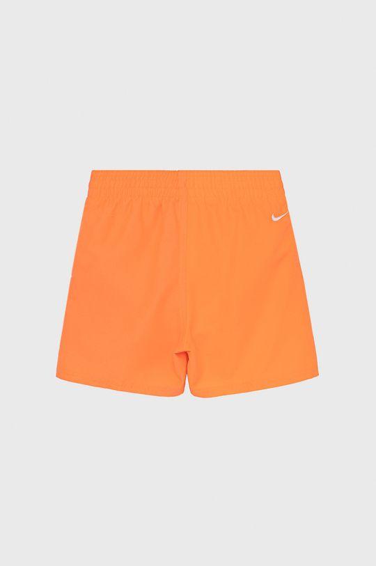 Nike Kids - Szorty kąpielowe dziecięce mandarynkowy