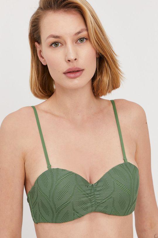 zelená Roxy - Plavková podprsenka Dámský