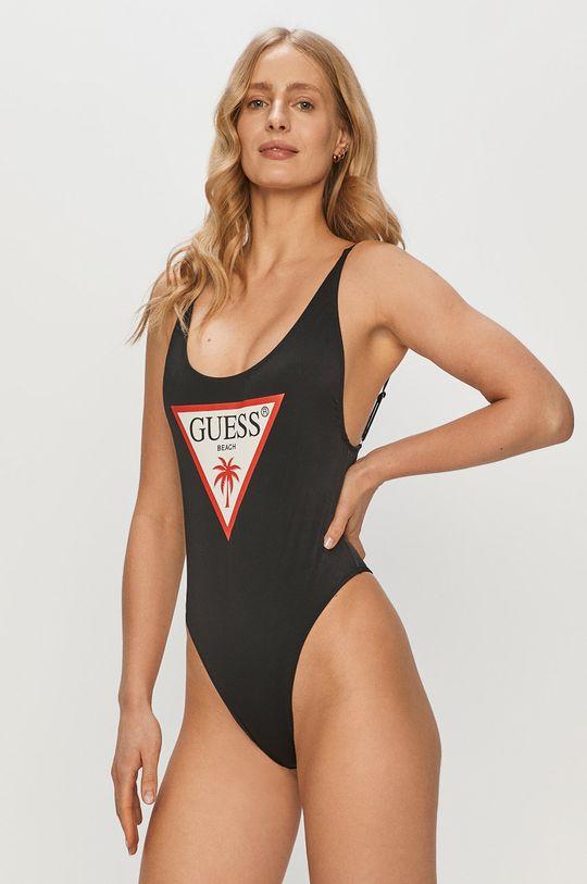czarny Guess - Strój kąpielowy Damski