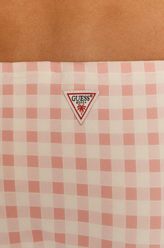 růžová Guess - Plavkové kalhotky