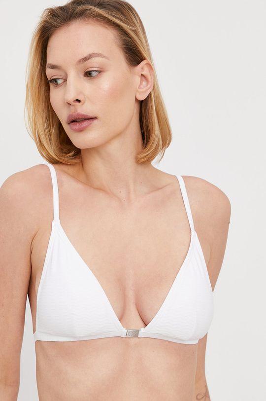biały Calvin Klein - Biustonosz kąpielowy Damski