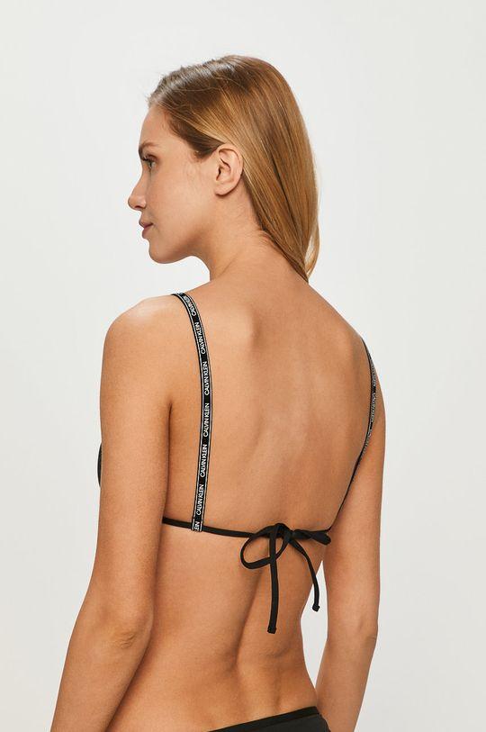 Calvin Klein - Plavková podprsenka čierna