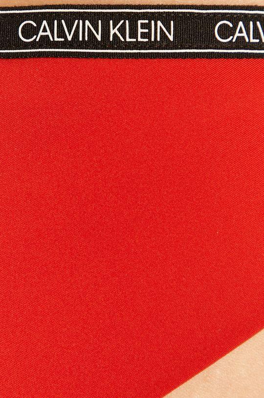 czerwony Calvin Klein - Figi kąpielowe