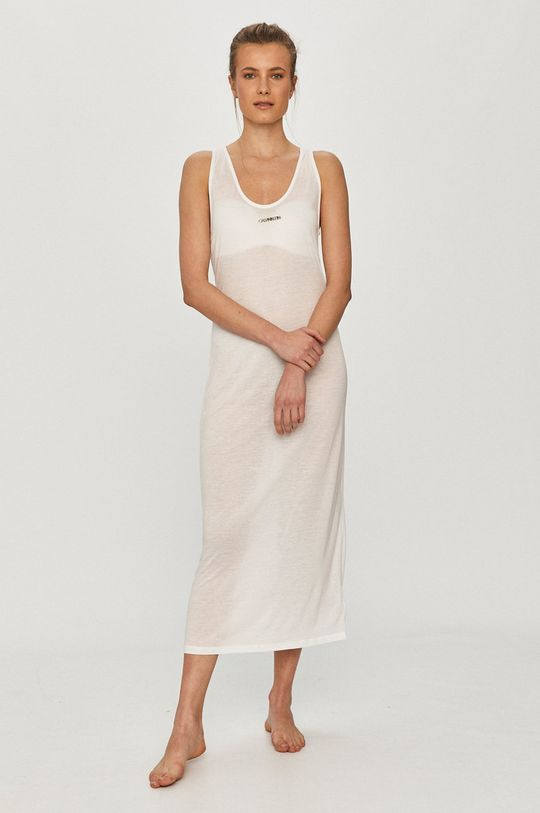 Calvin Klein - Rochie de plaja alb