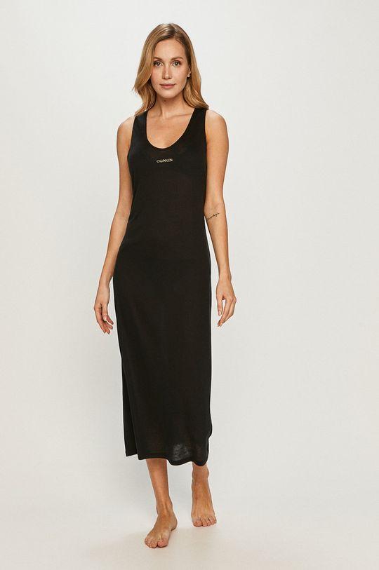 čierna Calvin Klein - Plážové šaty Dámsky
