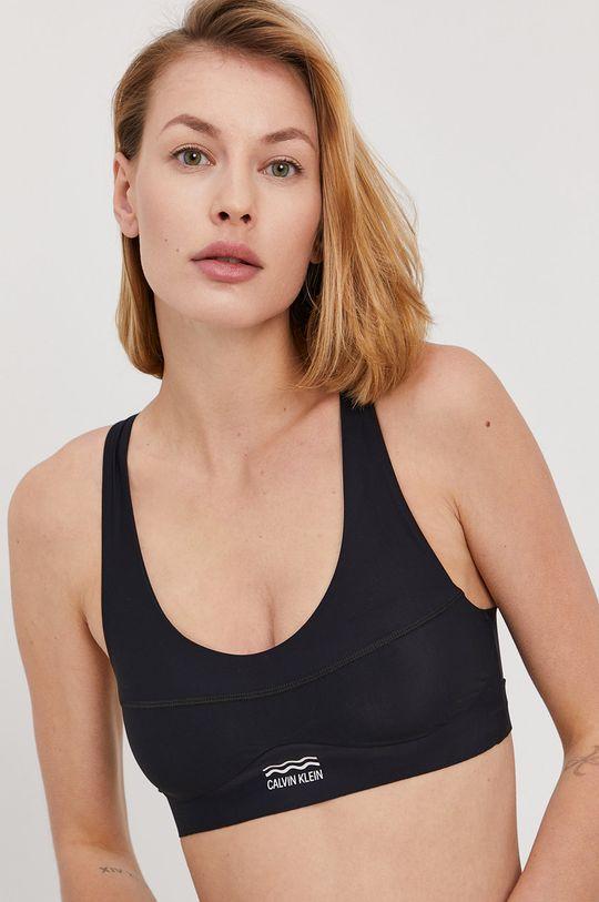 černá Calvin Klein - Plavková podprsenka Dámský