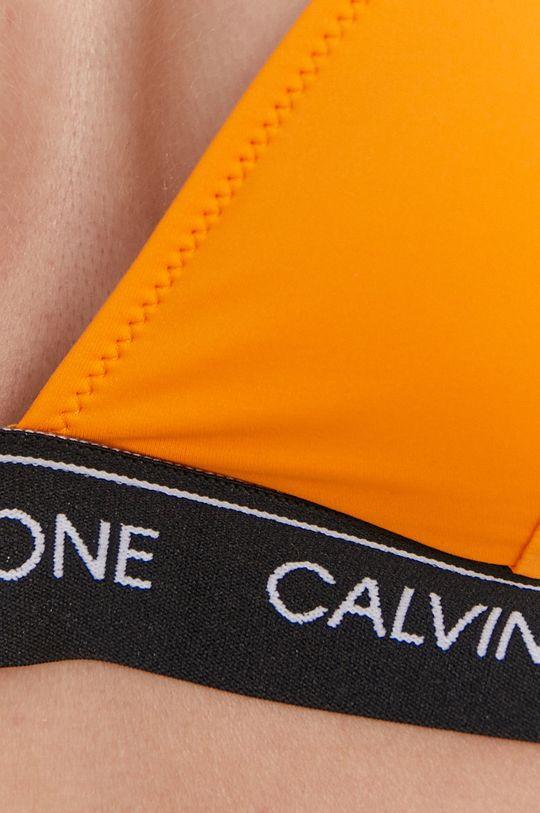oranžová Calvin Klein - Plavková podprsenka