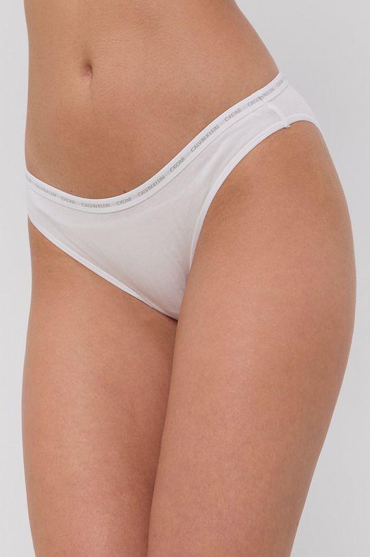 Calvin Klein Underwear - Figi (2-pack) biały