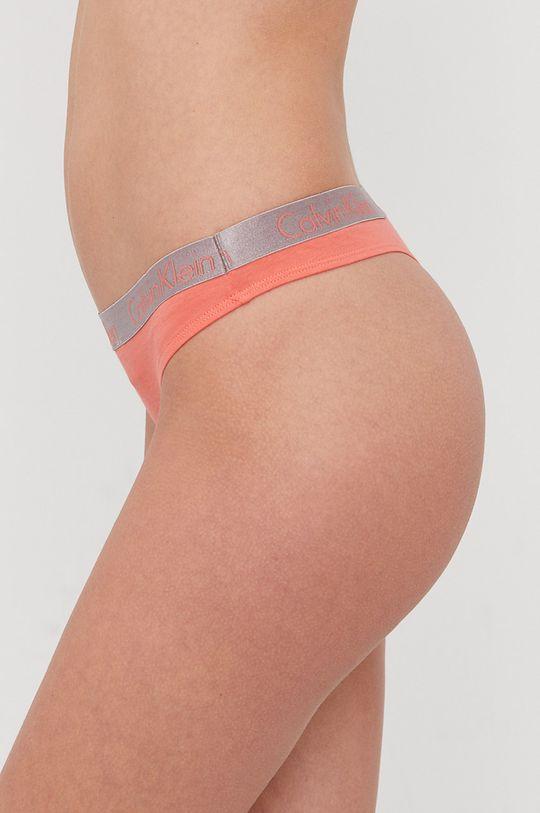 Calvin Klein Underwear - Tangá koralová