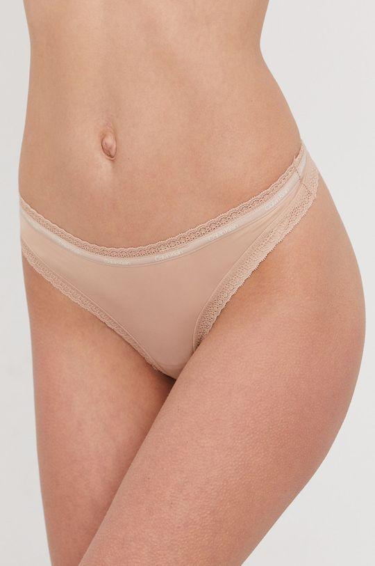 tělová Calvin Klein Underwear - Tanga Dámský