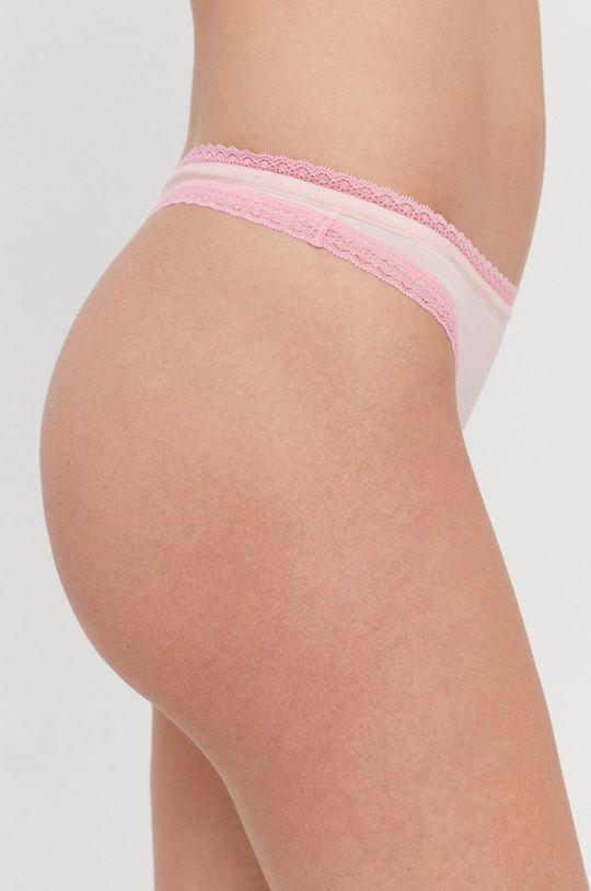 Calvin Klein Underwear - Stringi różowy