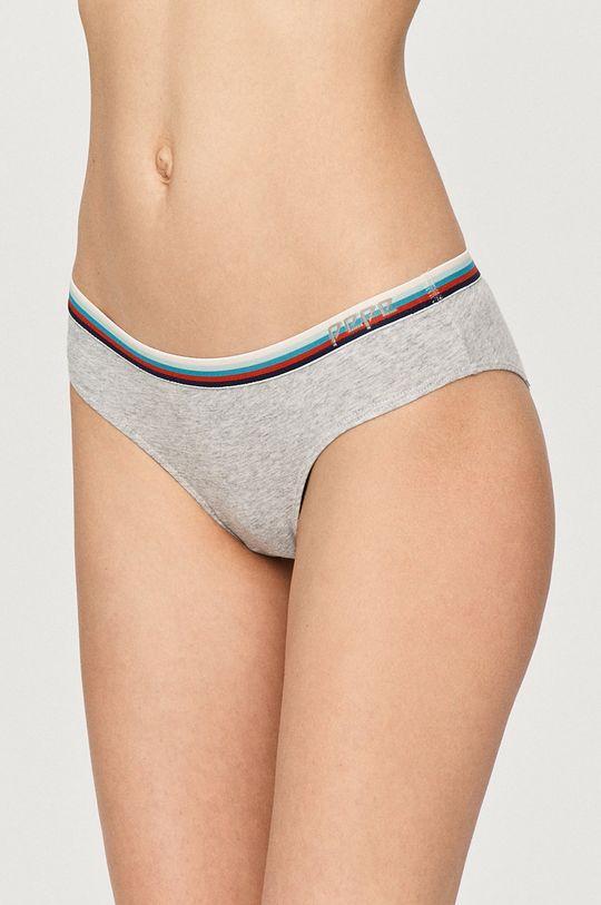 vícebarevná Pepe Jeans - Kalhotky (3-pack) Dámský