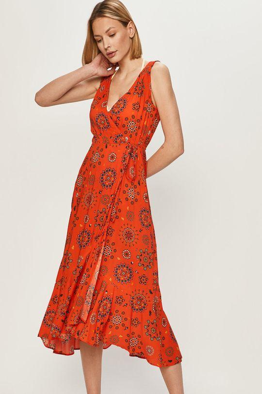 pomarańczowy Desigual - Sukienka Damski
