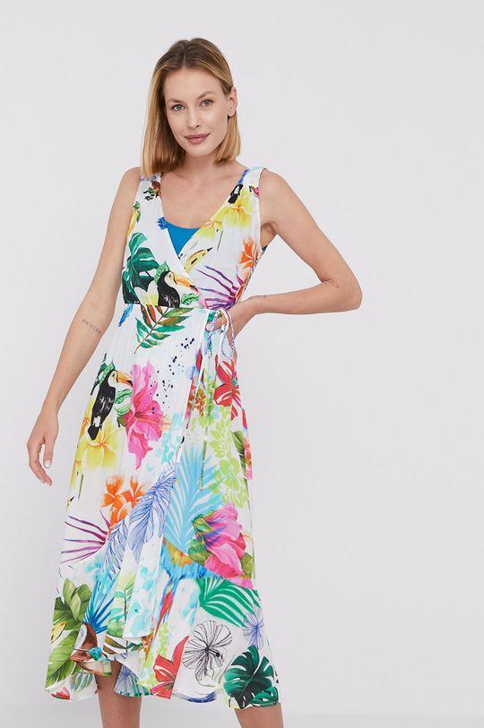 multicolor Desigual - Sukienka plażowa Damski