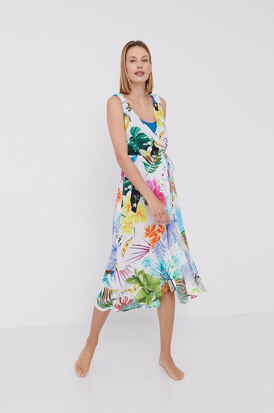Desigual - Sukienka plażowa 100 % Wiskoza