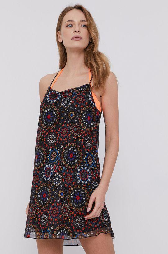 czarny Desigual - Sukienka plażowa Damski