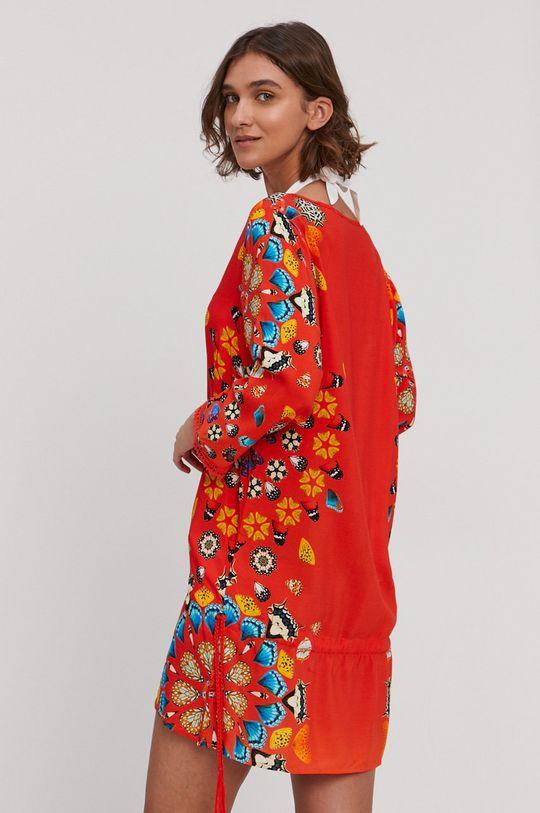 Desigual - Plážové šaty oranžová