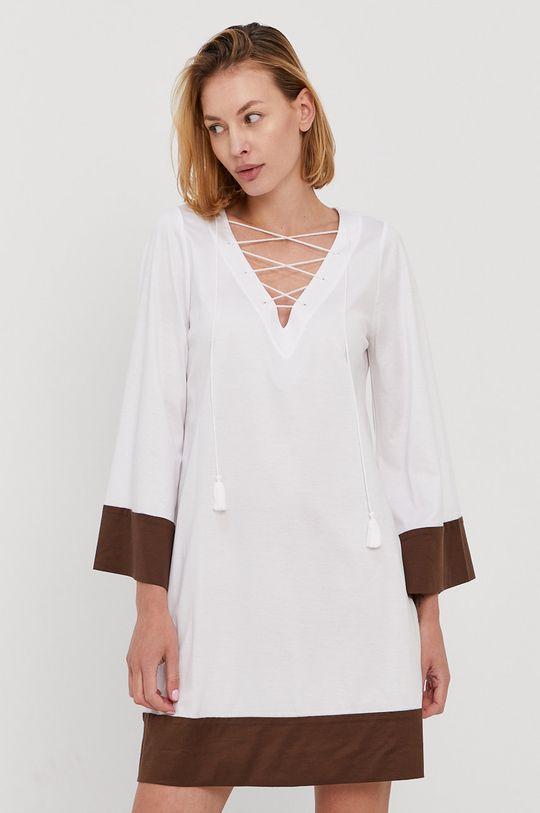 biały Max Mara Leisure - Sukienka plażowa Damski