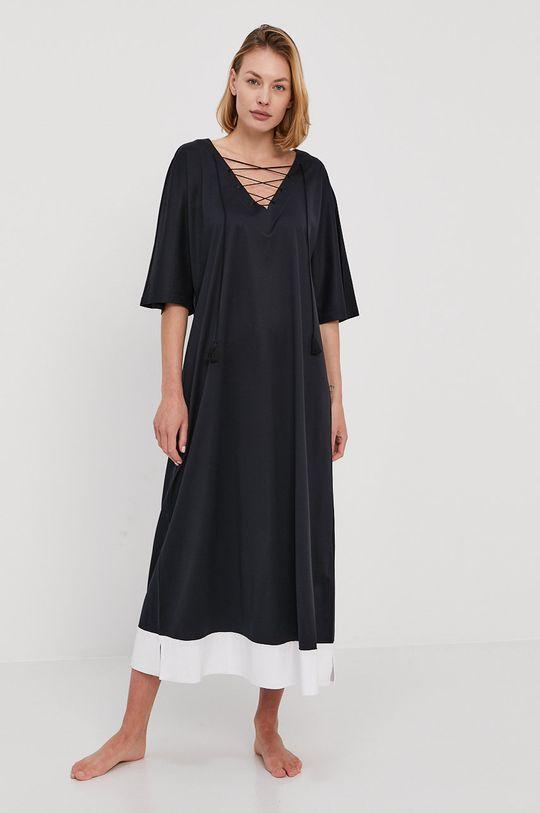czarny Max Mara Leisure - Sukienka plażowa Damski