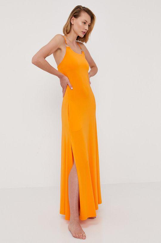 pomarańczowy Max Mara Leisure - Sukienka plażowa Damski