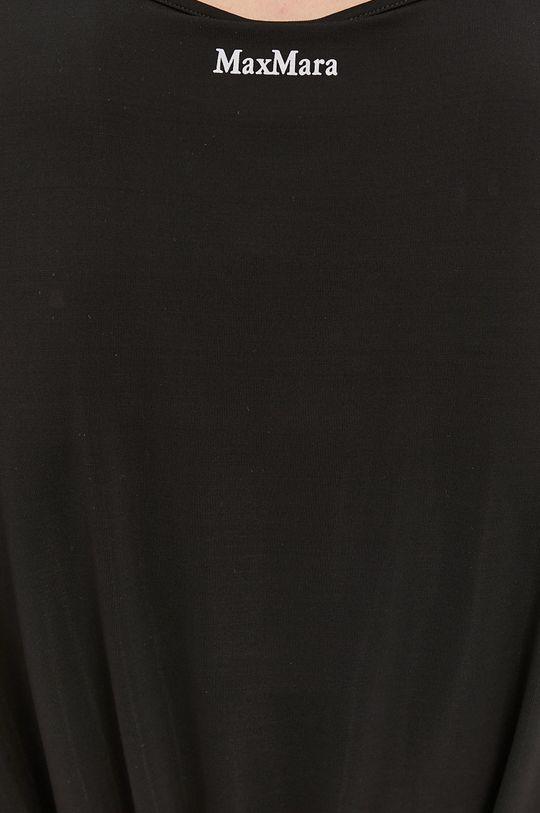 czarny Max Mara Leisure - Sukienka plażowa