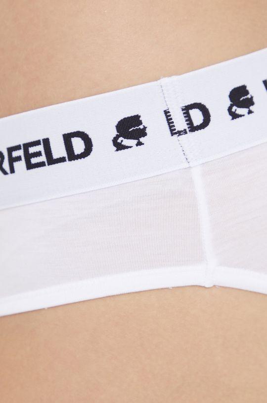 biały Karl Lagerfeld - Figi