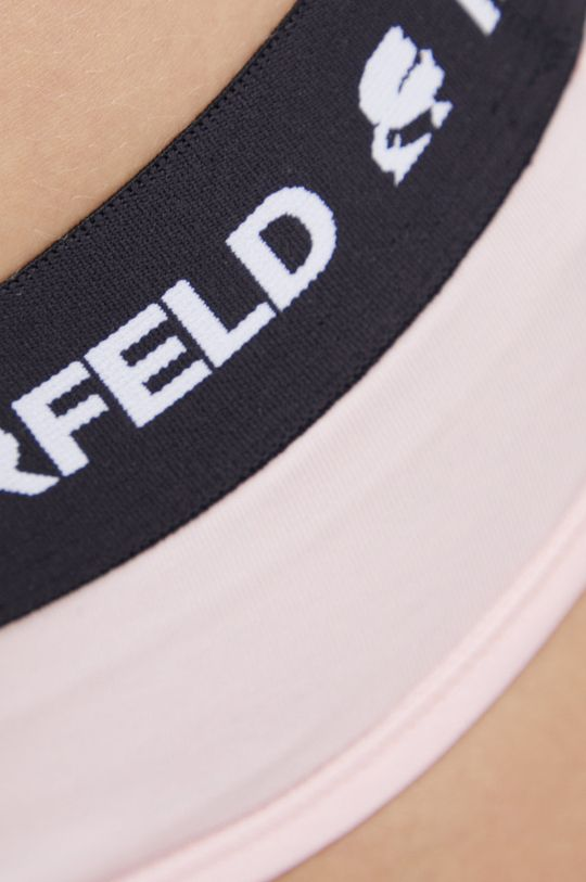 różowy Karl Lagerfeld - Figi