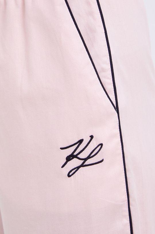 różowy Karl Lagerfeld - Spodnie piżamowe