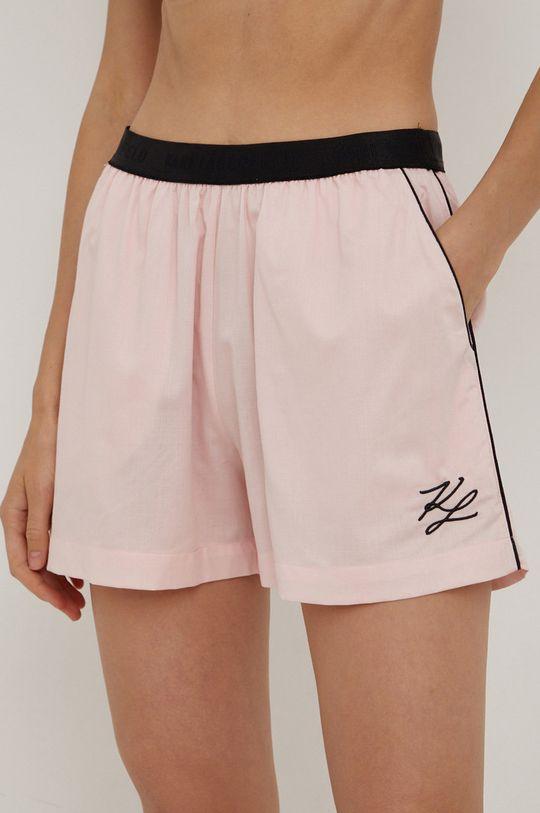 różowy Karl Lagerfeld - Piżama Damski