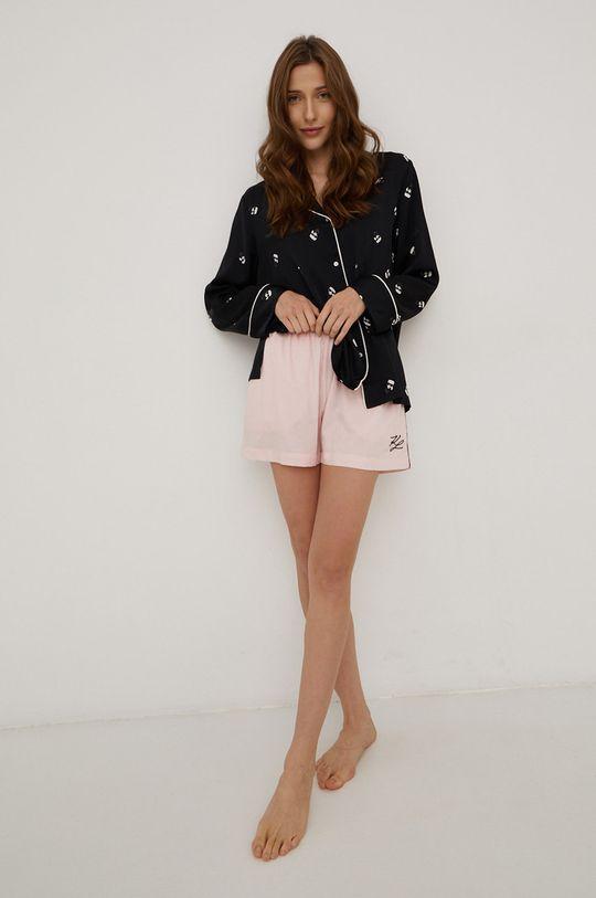 Karl Lagerfeld - Piżama różowy