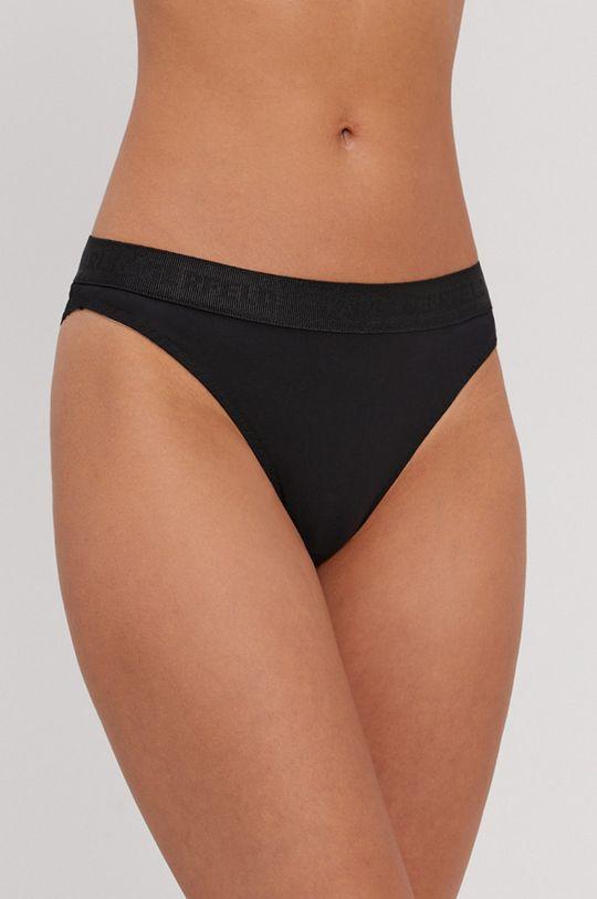 čierna Karl Lagerfeld - Brazílske nohavičky Dámsky