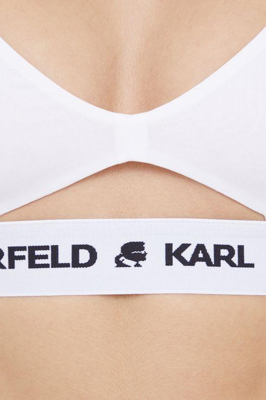 biały Karl Lagerfeld - Biustonosz